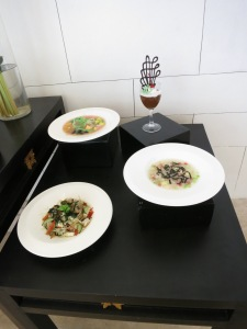 Seaweed fine dining