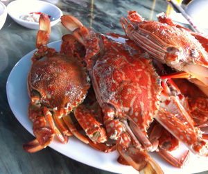 krabbor röda goda