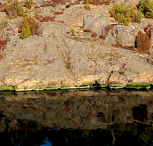 algzonering ovan ytan