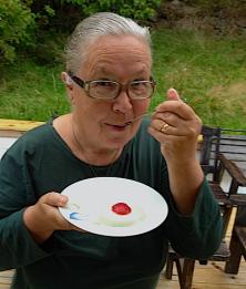 9smaklig Karragen frukt pudding