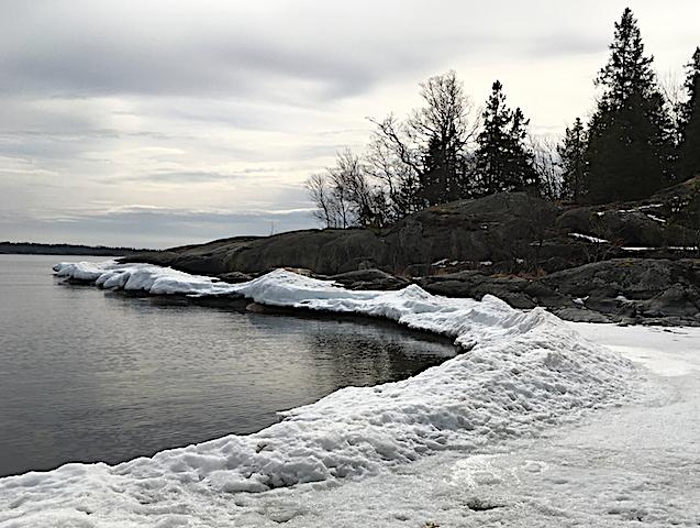 2 Påverkan av is på tångbältet 20180408