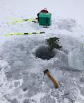 Nysnö på isen20190303