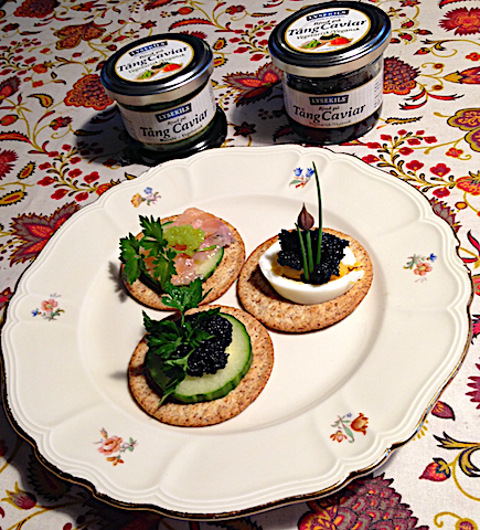 5 Tång caviart wasabi