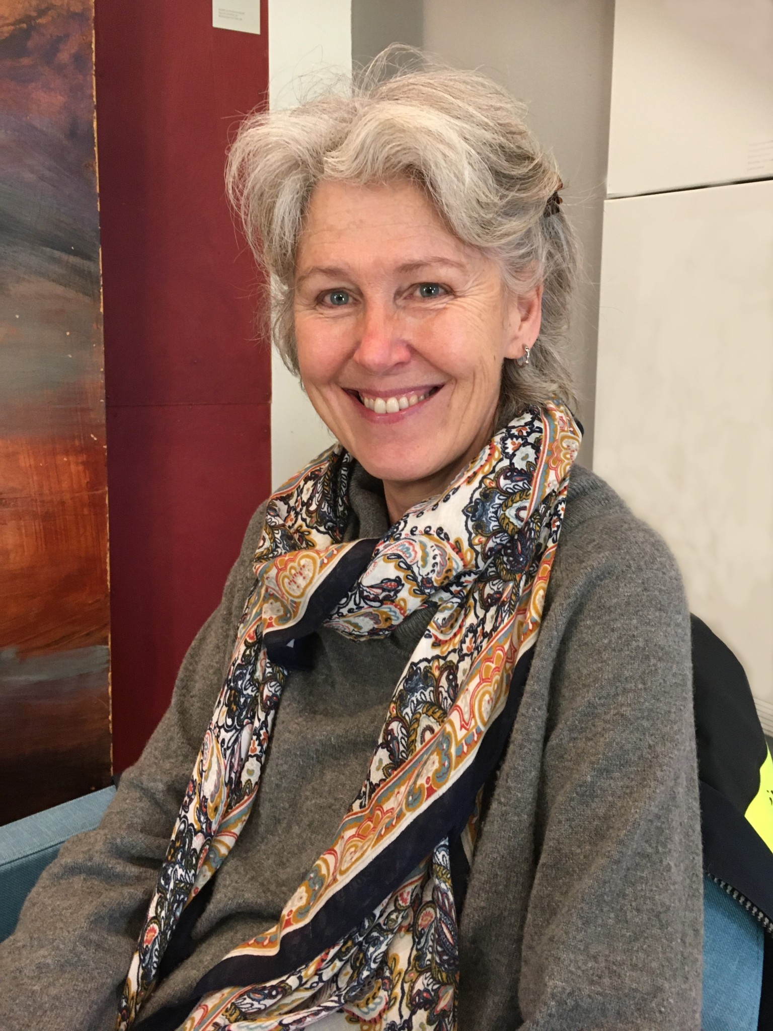 professor Angela Wulff - kiselalgsentusiast