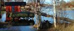 7 upplagd båt vidhögvatten