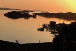 Solnedgångsvy Tjärnö labbet